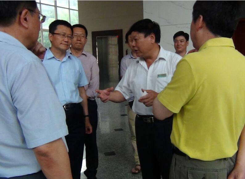 中国医药大发和龙岩市领导莅临我司视察调研