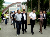 中华环保世纪行新罗组委会走进大发